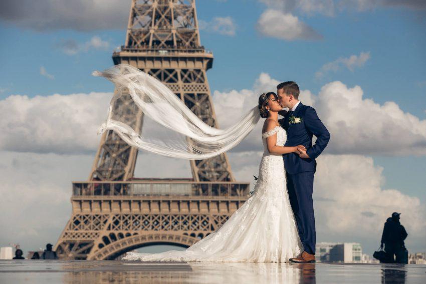 A Romantic Wedding Adventure in Paris